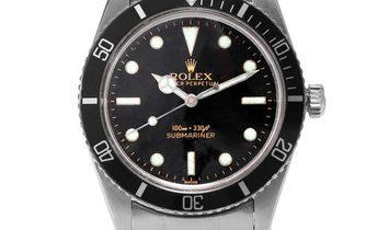 Rolex Submariner 5508, Baton, 1962, Good, Case material Steel, Bracelet material: Steel