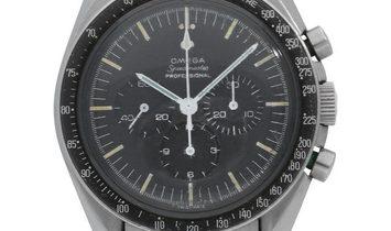 Omega Speedmaster Moonwatch Chronograph 105.012-66, Baton, 1966, Used, Case material St