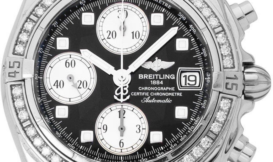 Breitling Chrono Cockpit A13358, Baton, 2012, Very Good, Case material Steel, Bracelet