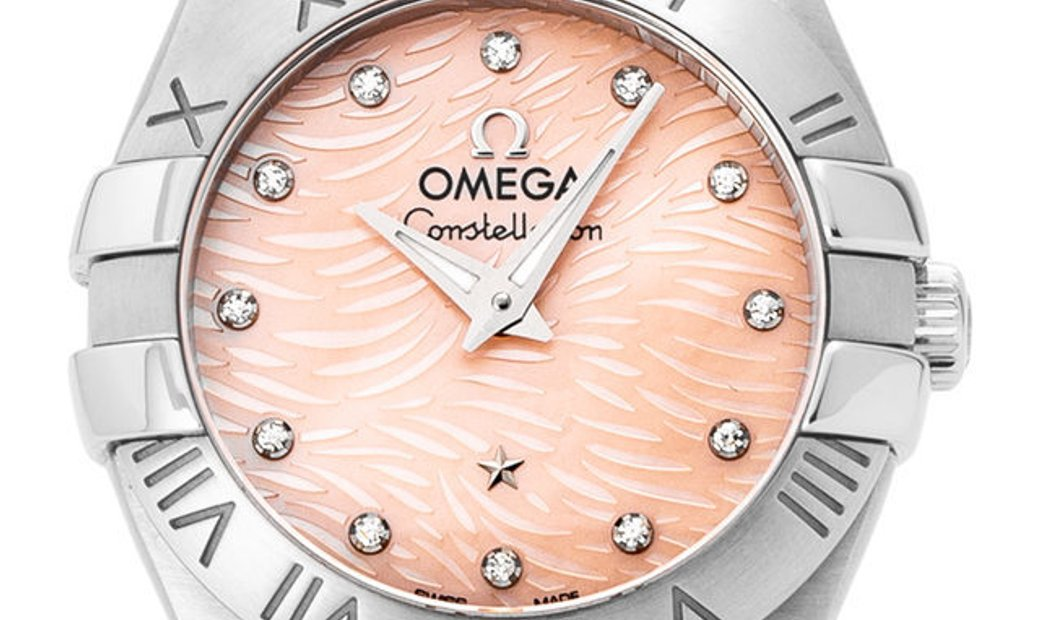Omega Constellation Quartz 123.10.24.60.57.002, Baton, 2016, Very Good, Case material S