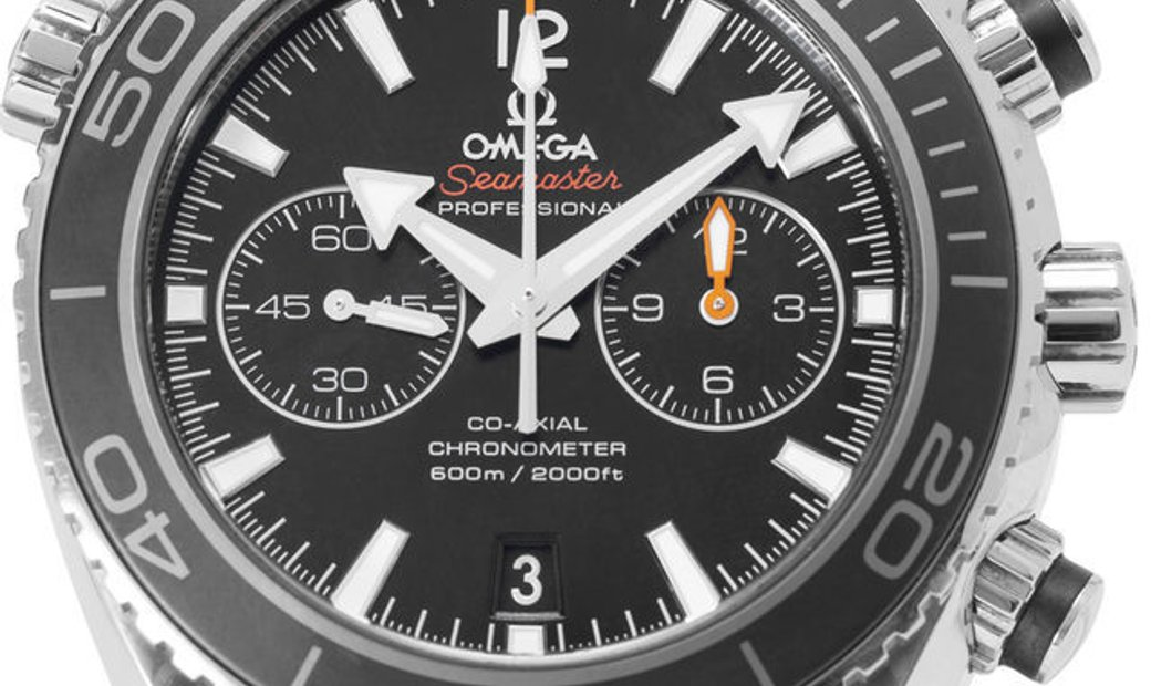 Omega Seamaster Planet Ocean 600 M 232.30.46.51.01.001, Baton, 2017, Very Good, Case ma