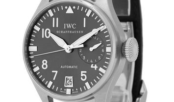 IWC Big Pilots IW500402, Arabic Numerals, 2011, Very Good, Case material White Gold, Br