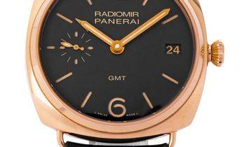 Panerai Radiomir Automatic PAM00421, Baton, 2014, Good, Case material Rose Gold, Bracel