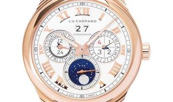 Chopard L.U.C Lunar One 161927-5001, Roman Numerals, 2012, Very Good, Case material Ros