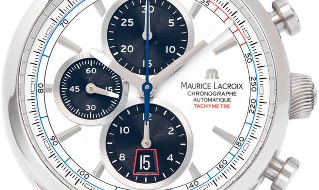 Maurice Lacroix Pontos Chronographe PT6288-SS001-130, Baton, 2018, Very Good, Case mate