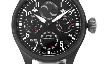 IWC Big Pilots IW502902, Arabic Numerals, 2013, Very Good, Case material Titanium, Brac