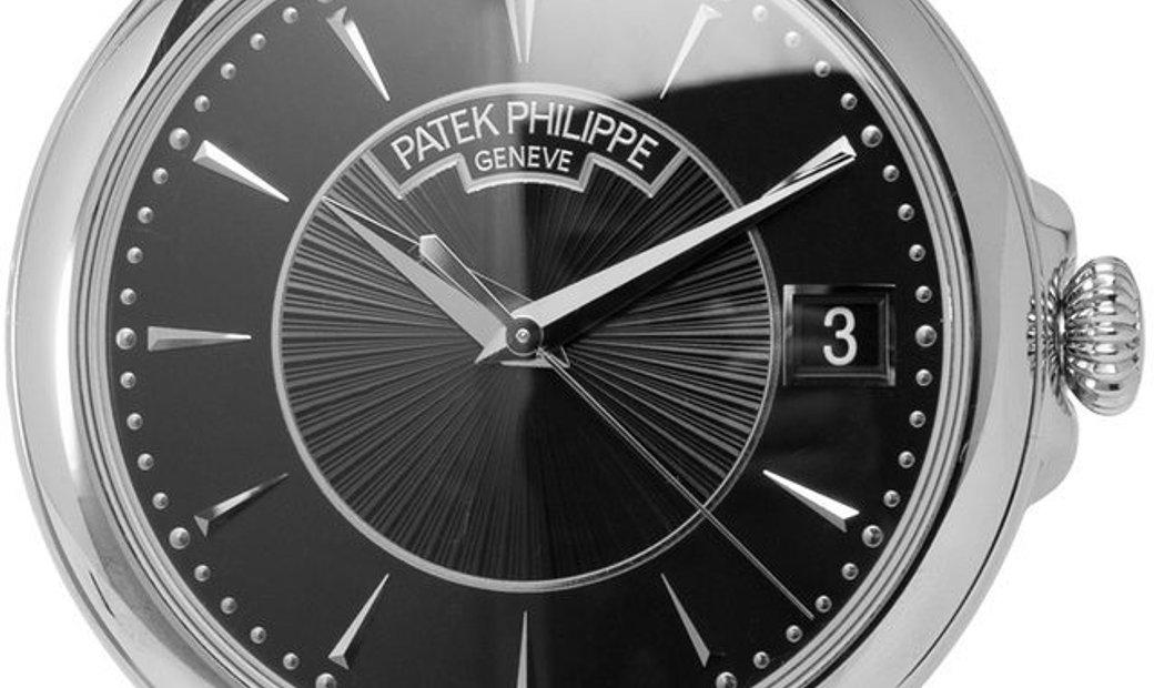 Patek Philippe Calatrava 5153G, Baton, 2015, Very Good, Case material White Gold, Brace