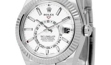 Rolex Sky-Dweller 326934, Baton, 2017, Very Good, Case material Steel, Bracelet materia
