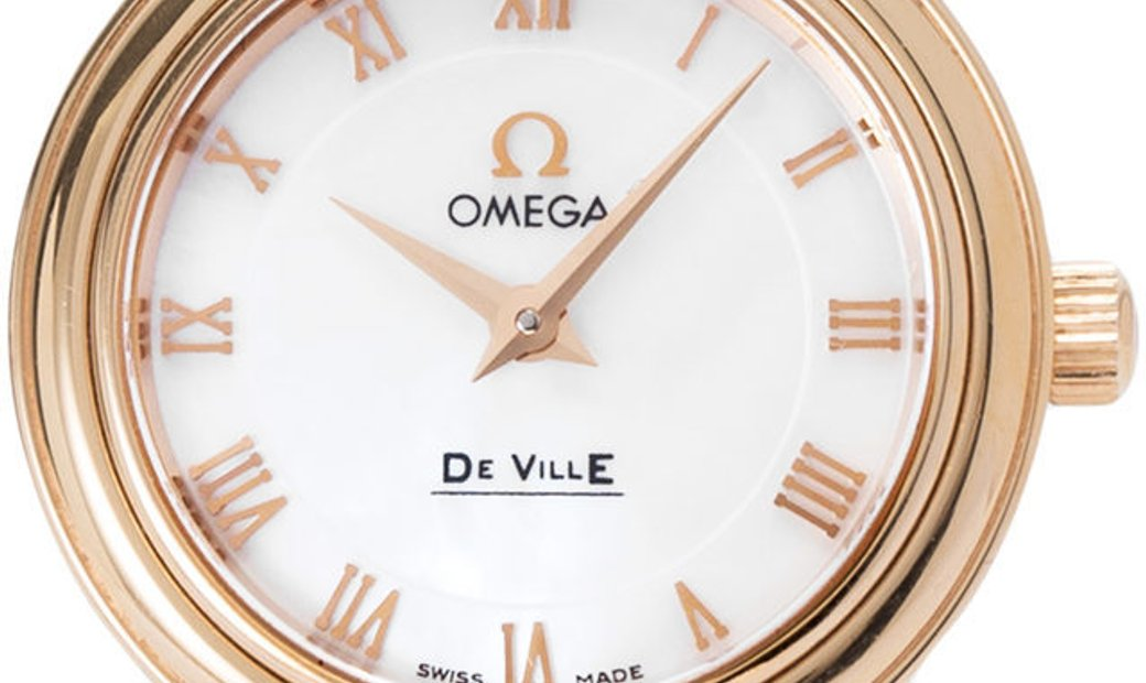 Omega De Ville Prestige Ladies 4693.71.02, Roman Numerals, 2008, Very Good, Case materi