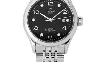 Tudor 1926 91350, Baton, 2019, Very Good, Case material Steel, Bracelet material: Steel