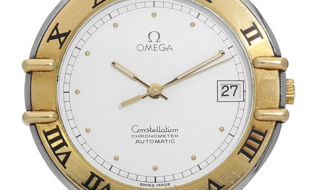Omega Constellation Automatic, Baton, 1985, Good, Case material Steel, Bracelet materia