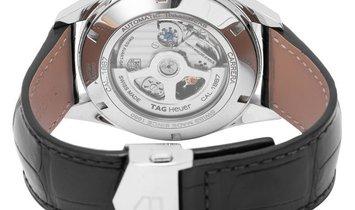 TAG Heuer Carrera Chronograph CAR2014.FC6235, Arabic Numerals, 2016, Very Good, Case ma