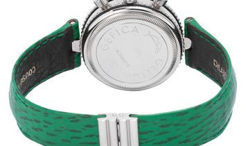 Gerald Genta Gefica G 2989.7, Baton, 1997, Very Good, Case material Steel, Bracelet mat