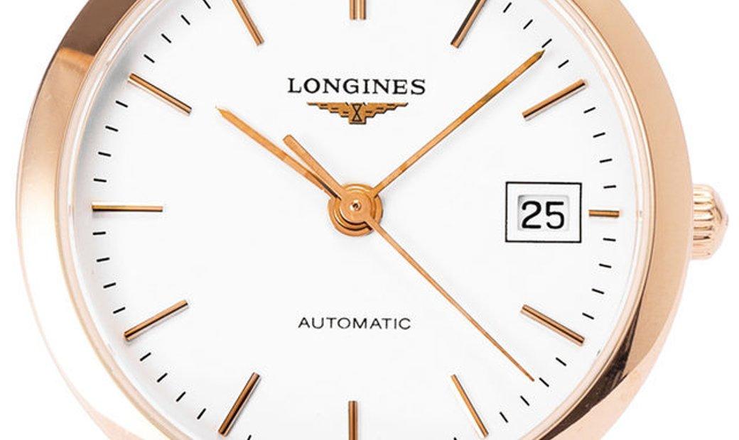 Longines Elegant L4.378.8.12.0, Baton, 2017, Very Good, Case material Rose Gold, Bracel