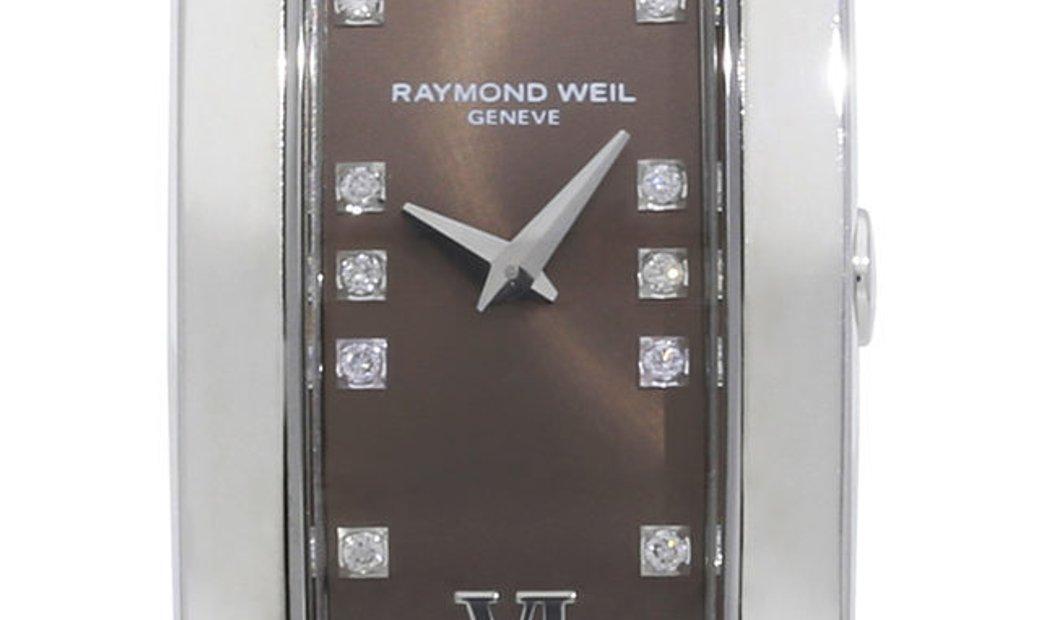 Raymond Weil Shine 1500-ST3-00775, Roman Numerals, 2012, Very Good, Case material Steel