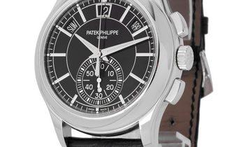 Patek Philippe Annual Calender Chronograph 5905P-010, Baton, 2019, Very Good, Case mate