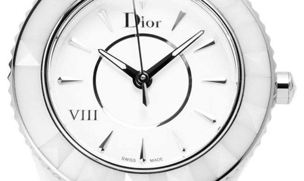 Dior VIII  CD1231E2C001 , Baton, 2019, Very Good, Case material Ceramic, Bracelet mater