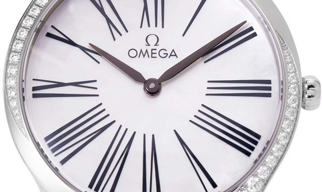 Omega De Ville Tresor 428.17.36.60.05.001, Roman Numerals, 2018, Very Good, Case materi