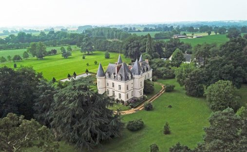 Castle in Rennes, Brittany, France