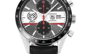 TAG Heuer Carrera CV201AE.FC6233, Baton, 2013, Very Good, Case material Steel, Bracelet