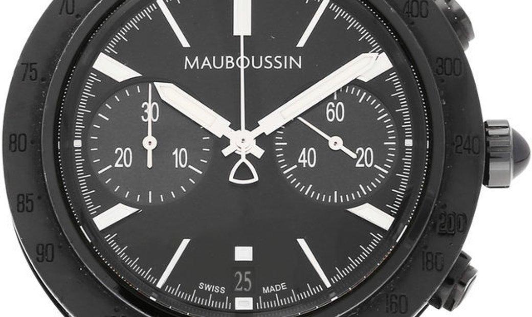 Mauboussin Life for Ever 909, Baton, 2012, Good, Case material White Gold, Bracelet mat
