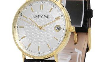 Wempe Zeitmeister Quartz, Baton, 2013, Very Good, Case material Yellow Gold, Bracelet m