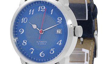 P. Nitzsche Classic Unikat, Arabic Numerals, 2017, Unworn, Case material Steel, Bracele