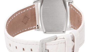 Patek Philippe Gondolo 4981G, Baton, 2007, Very Good, Case material White Gold, Bracele