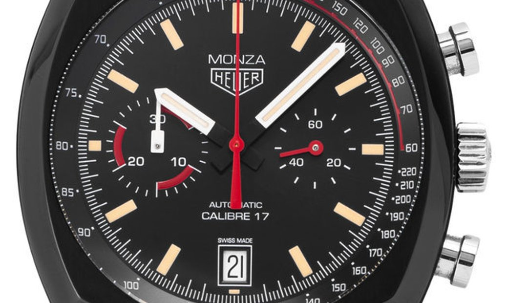 TAG Heuer Monza CR2080.FC6375, Baton, 2018, Very Good, Case material Titanium, Bracelet