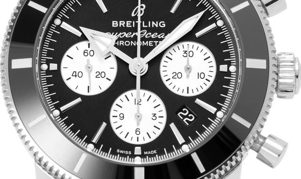 Breitling Superocean Heritage II B01 Chronograph 44 AB0162121B1A1, Baton, 2019, Very Go