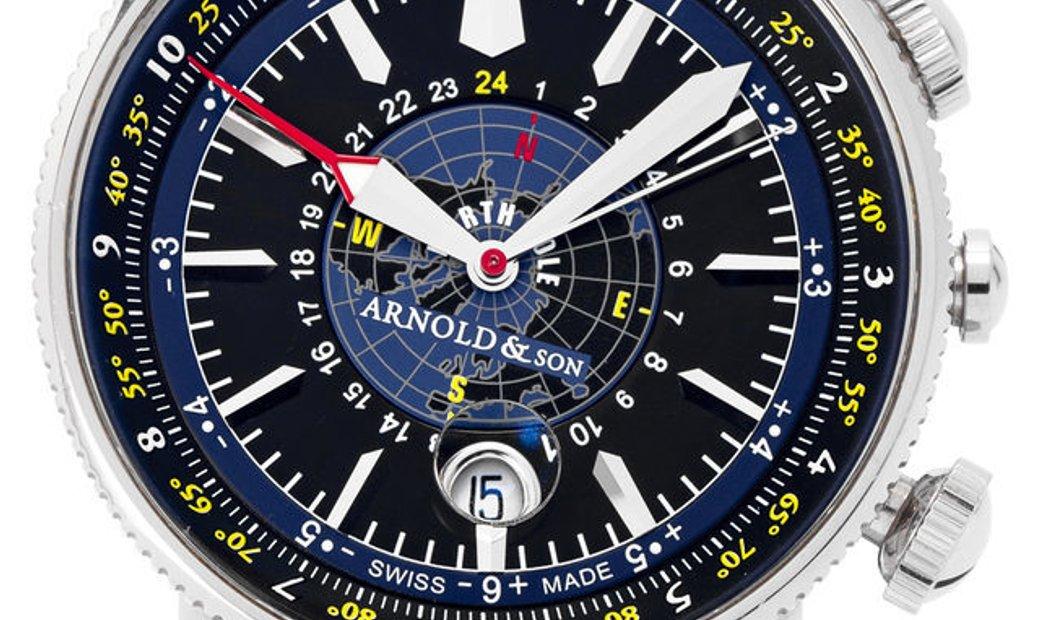 Arnold & Son White Ensign Longitude II 1L2AS.B02A.K01B, Baton, 2009, Very Good, Case ma