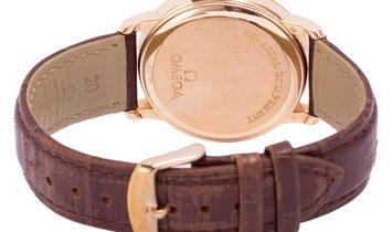 Omega De Ville Prestige 4614.30.02, Roman Numerals, 2007, Very Good, Case material Rose