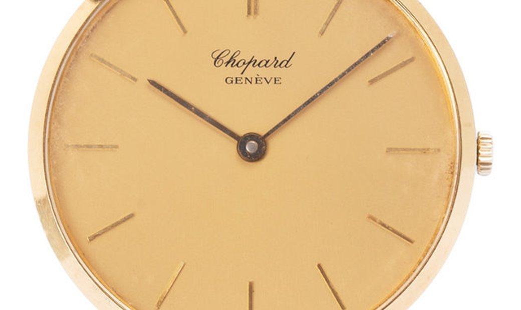 Chopard Vintage  1013 , Baton, 1970, Good, Case material Yellow Gold, Bracelet material