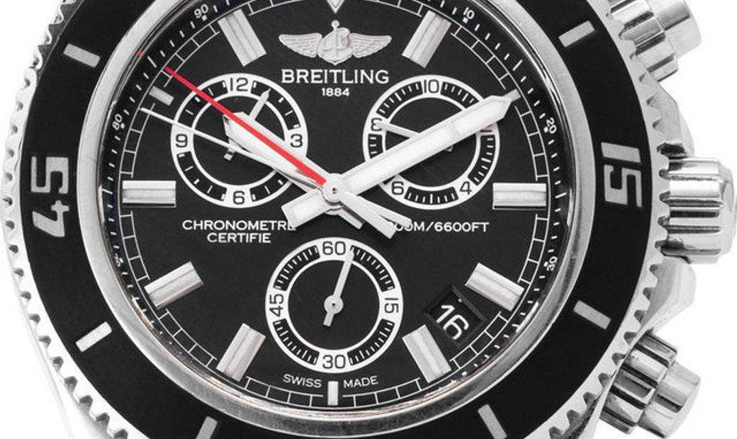 Breitling Superocean Chronograph M2000 A73310A8.BB73.154S.A20S.1, Baton, 2018, Good, Ca