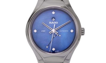 Rado True R27243882, Plain, 2019, Very Good, Case material Ceramic, Bracelet material: