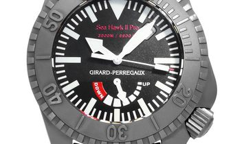 Girard Perregaux Sea Hawk 49940, Baton, 2008, Very Good, Case material Titanium, Bracel