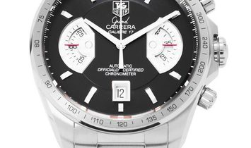 TAG Heuer Grand Carrera CAV511A.BA0902, Baton, 2011, Very Good, Case material Steel, Br