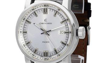 Chronoswiss Pacific  CH 2883B-SI, Baton, 2011, Very Good, Case material Steel, Bracelet