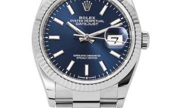 Rolex Datejust 126234, Baton, 2019, Very Good, Case material Steel, Bracelet material: