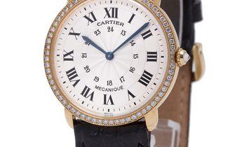 Cartier Ronde Louis  0900 1, Roman Numerals, 1994, Very Good, Case material Yellow Gold
