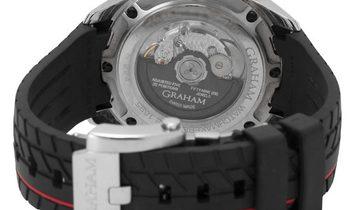 Graham Silverstone Supersprint RS Chronograph 2STBC.B05A.K99F, Baton, 2015, Very Good,