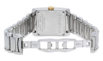 Ebel Brasilia E1255M41, Roman Numerals, 2010, Very Good, Case material Steel, Bracelet