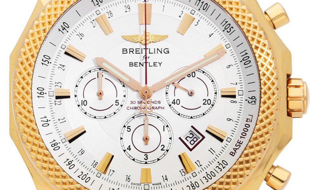Breitling Bentley Barnato R2536821.G737, Baton, 2016, Very Good, Case material Rose Gol