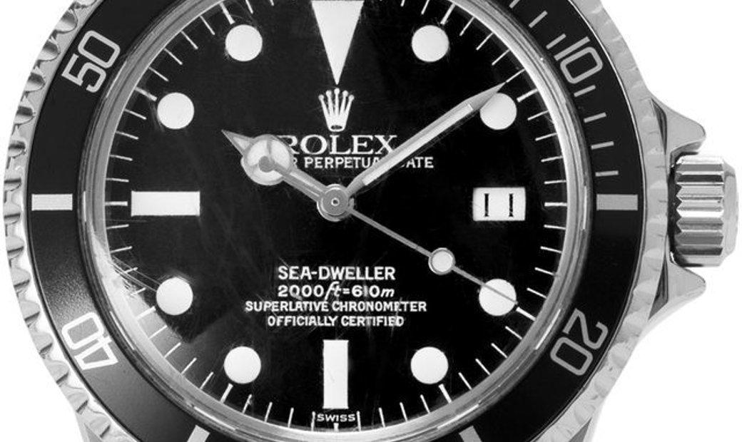 Rolex Sea-Dweller 1665, Baton, 1983, Good, Case material Steel, Bracelet material: Stee
