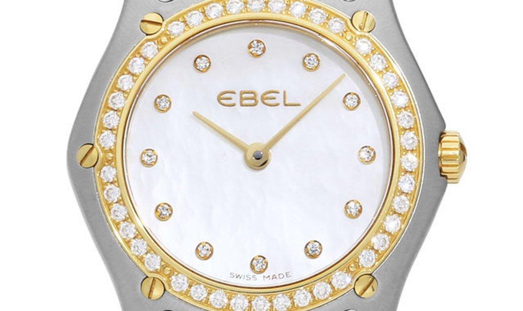 Ebel Wave 1256F2S, Diamonds, 2009, Very Good, Case material Steel, Bracelet material: S