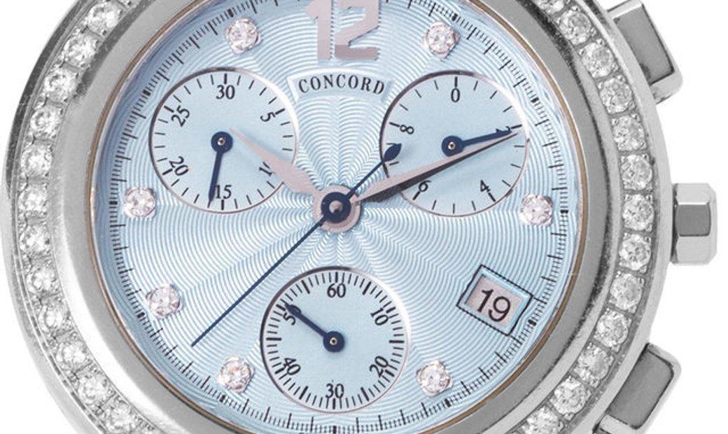 Concord La Scala 14.C5.1891.S, Baton, 2000, Good, Case material Steel, Bracelet materia