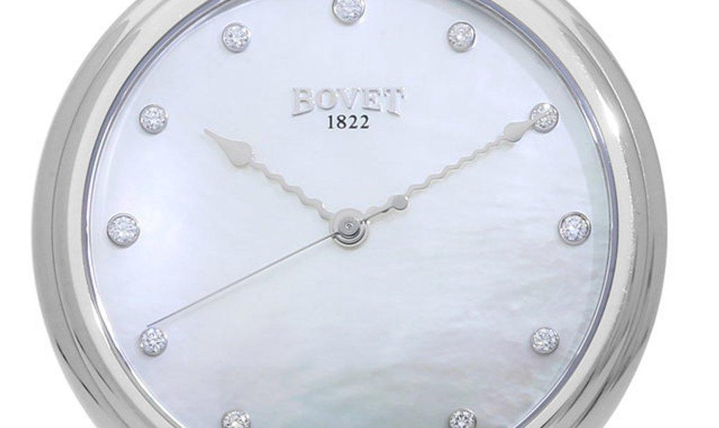 Bovet  Chateau de Motiers  Automatic, Diamonds, 2012, Very Good, Case material White Go