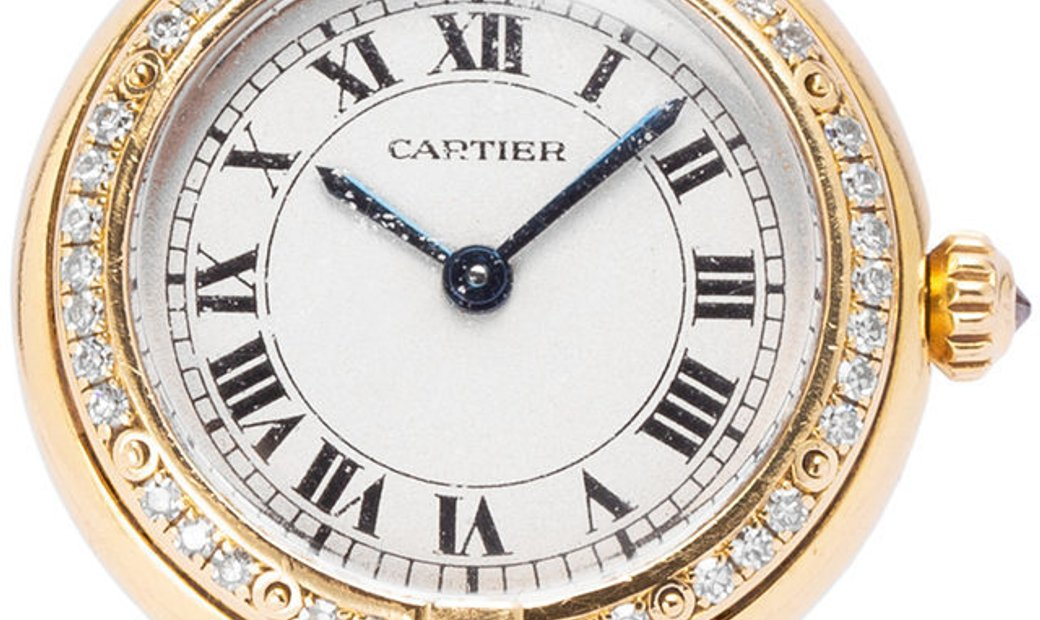 Cartier Panthère 6692, Roman Numerals, 1988, Good, Case material Yellow Gold, Bracelet