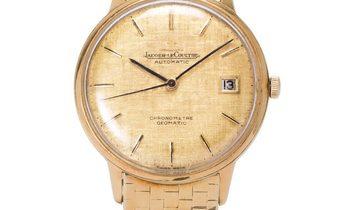 Jaeger-LeCoultre Geomatic Chronometre  Cal.881, Baton, 1971, Good, Case material Yellow