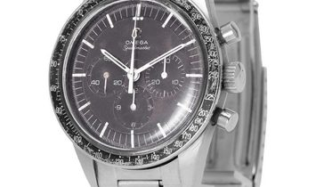 Omega Speedmaster Moonwatch Chronograph ST 105.003-65, Baton, 1966, Used, Case material
